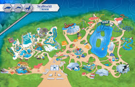 theme park  attractions map  seaworld san antonio