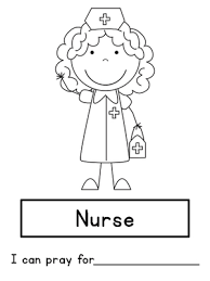 Small Picture Community Helpers Coloring Page