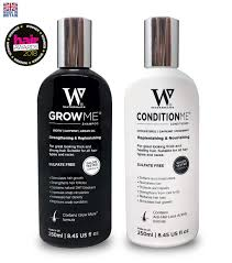 hair growth shoo and conditioner by watermans bo pack can reduce hair loss amazon co uk health personal care