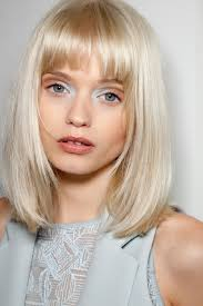 Abbey Lee s bangs and long bob Hair Today Gone Tomorrow.