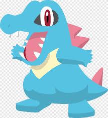 Pokémon HeartGold và SoulSilver Totodile, totodile, hình động vật, phim  hoạt hình png