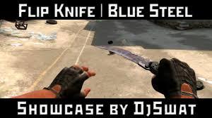Flip Knife | <b>Blue</b> Steel [<b>Складной нож</b> | Вороненая сталь] - YouTube