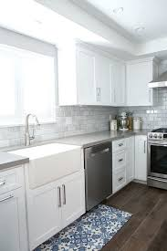kitchen backsplash with white cabinets kitchen white cabinets gray best grey white kitchen cabinets subway tile backsplash