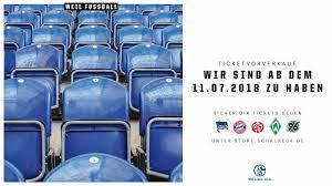 Ticketverkauf für die ersten Heimspiele beginnt - Fußball - Schalke 04
