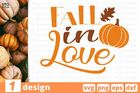 .fall svg, autumn svg, pumpkin svg, happy fall yall svg, pumpkin silhouette svg, pumpkin clipart more design resources by wipsart. Fall In Love Svg Cut File Fall Cricut Family Quote 814079 Cut Files Design Bundles