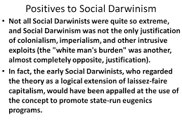 economic theories of the industrial revolution ppt positives to social darwinism