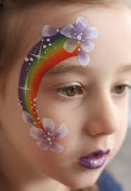my gorgeous friend has asked me to face paint her daughters birthday party