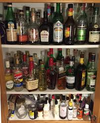 Alcohol Cabinet How Into Cocktails Are You