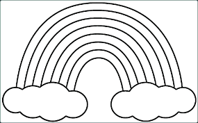 Coloring Pages Rainbows 8 Rainbow Templates Free Pdf Documents