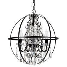fascinating black orb chandelier also metal orb chandelier also candle chandelier