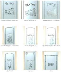 etched glass pantry door doors with sans samples frosted closet