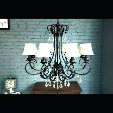 chandelier with fabric shades bay 5 light brushed nickel chandelier chandelier fabric shades dramatic 8 light