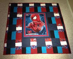 13 best Spider-Man blanket images on Pinterest | Spiderman, Boy ... & Queen sized Spiderman quilt (back) Adamdwight.com