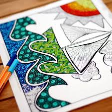 These ocean coloring sheets will take your kid on an underwater adventure that he will not soon forget. 16 Ocean Crafts For Kids And Adults