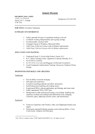 Lineman Resume Nice Lineman Resume Images Documentation Template Example Ideas 8