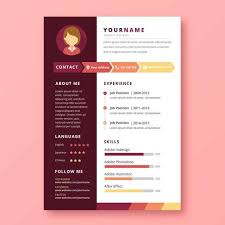 Resume Of A Graphic Designer Graphic Designer Resume Download Free Vector Art Stock Graphics