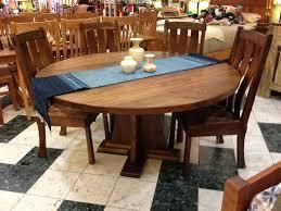 solid walnut craftsman round pedestal table