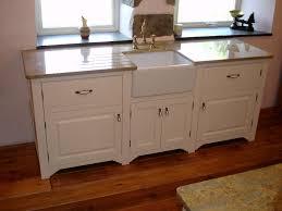 Kitchen Sink Base Cabinets Free Standing Kitchen Larder Buslineus