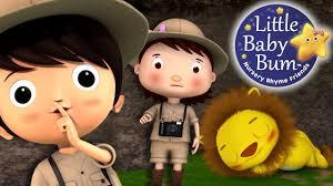 Going On A Lion Hunt Nursery Rhymes By Littlebabybum