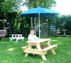 toddler picnic table wood kids wooden picnic table with umbrella picnic table with umbrella kid picnic