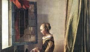 Jan Vermeer Girl Reading a Letter at an Open Window JPG resize=350 200