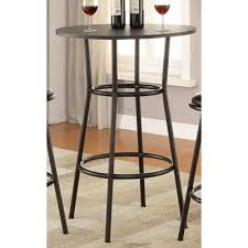 dining tables round coaster furniture dixie 2383 bar table quick view