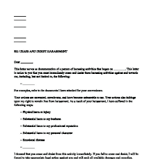 Cease And Desist Letter Template Uk Asentech Co