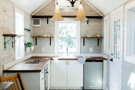 bright spacious kitchen tiny marta by sanctuary tiny homes
