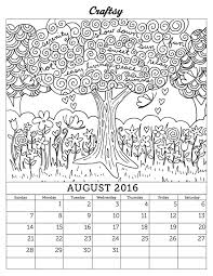 Small Picture Free Pretty Calendars Coloring Coloring Pages
