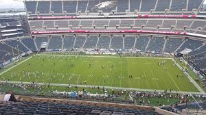 seat view for lincoln financial field section 202
