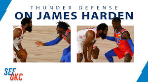 THUNDER DEFENSE: Highlights vs James Harden in Game 3 | 2020 NBA Playoffs -  8.22.20 - YouTube