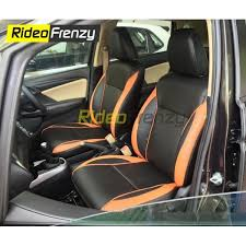 premium bucket fit leather car seat covers for baleno honda wrv jazz city ivtec at
