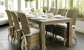 pottery barn chair cushions dining dining room