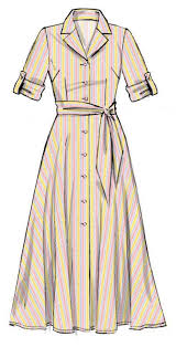 Retro Dress Patterns Fascinating McCall's 48 Pattern Retro Dress With Sash Vintage Sewing
