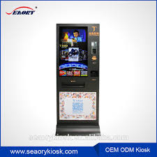 Movie Vending Machine Delectable Vertical Movie Ticket Vending Machine 48 48 48 Inch Screen