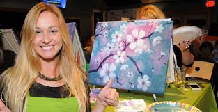 paint nite drink creatively