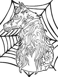 Drie Creatieve Paard Paginas 3 Kleurplaten Kleuren Boek Etsy