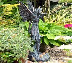 garden fairy statues. Large Standing Fairy Statue Garden Ornament Statues A