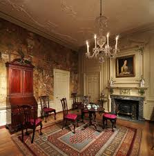 homes and interiors. room from the powel house, philadelphia homes and interiors o