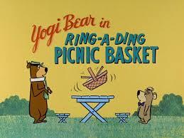 Yowp: Yogi Bear — Ring-a-Ding Picnic Basket