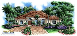 mediterranean house plan one story