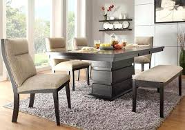 Dining Room Tables With A Bench Interesting Decorating