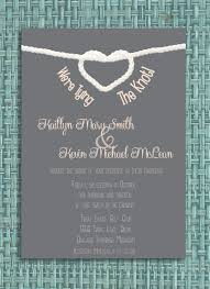 151 best wedding invitations images on pinterest printable The Knot Wedding Envelope Etiquette maybe with actual rope tied at the top? tying the knot wedding invitation diy printable invitation Stuffing Wedding Envelopes Etiquette
