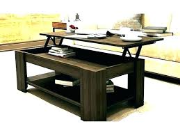 double lift top coffee table up mechanism with spring assist that lifting frame