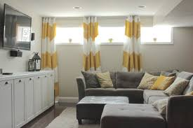 Short Window Curtains For Bedroom Curtains For Small Basement Windows Http Dandelionjelly