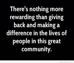 Giving Back To The Community Quotes Delectable Best Quotes About Giving Back With Wallpapers And Cards 48