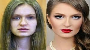 makeup transformation ugly to pretty makyajla gelen İnanılmaz değişim you