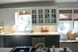 gray kitchen backsplash tile gray kitchen tile gray and white kitchen  makeover with hexagon tile backsplash