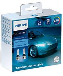 <b>Philips Ultinon Essential</b> LED H11 6500K (2 шт.) 11362UE2X2