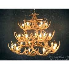adirondack antler chandelier how adirondack antler two tier chandelier